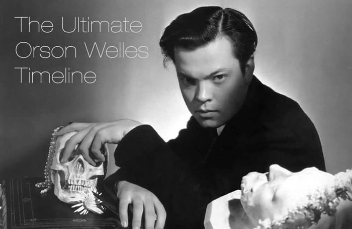 The Ultimate Orson Welles Timeline