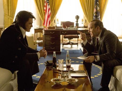 """""""Elvis & Nixon"""", visite surréaliste du King à la Maison Blanche"""